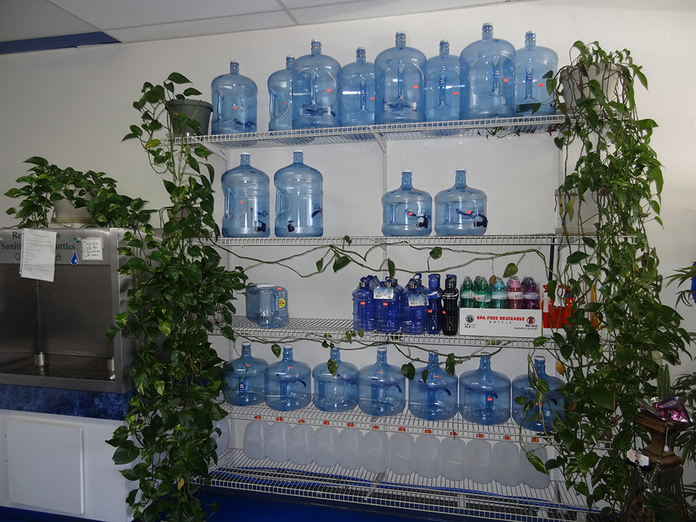 Inside Red Rock Springs Water, Alkaline Water, Summerlin Las Vegas
