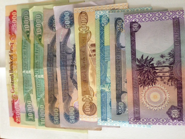 Iraqi Dinar Currency Las