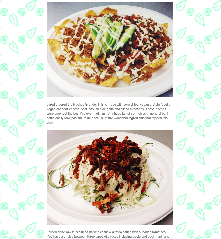 Nachos Grande & Other Vegan Options, 360 Vegan Blog