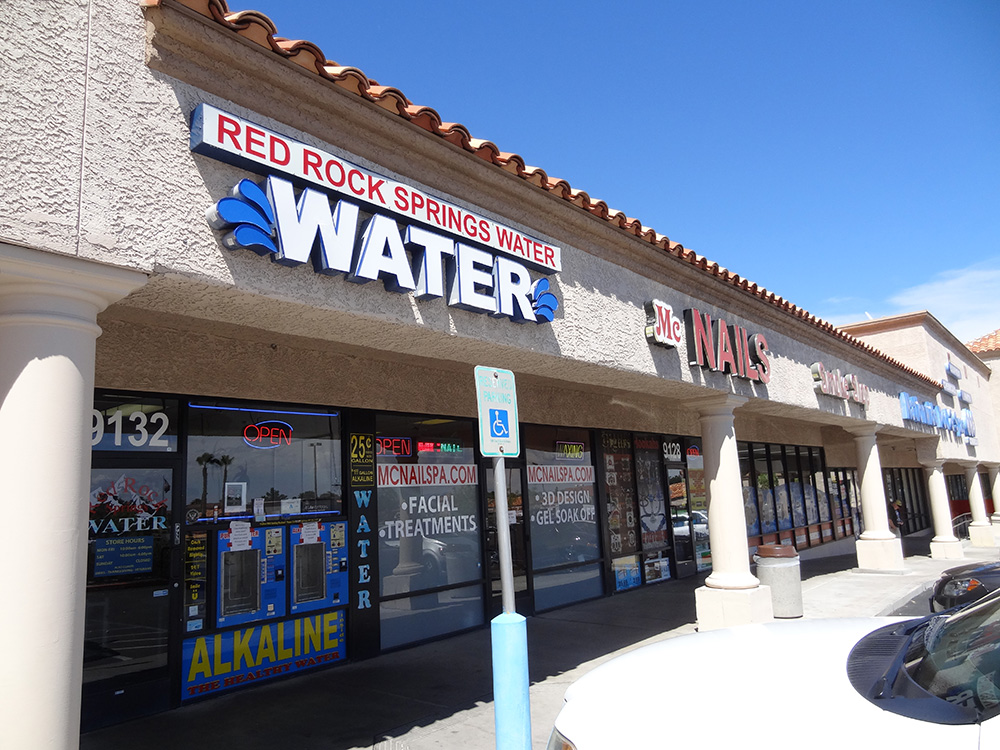 Red Rock Springs Water, Alkaline Water, Entrance, Summerlin Las Vegas
