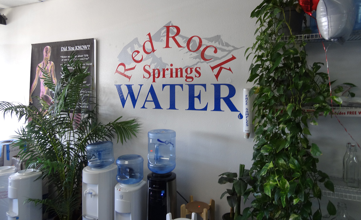 Red Rock Springs Water, Alkaline Water Store, Summerlin Las Vegas