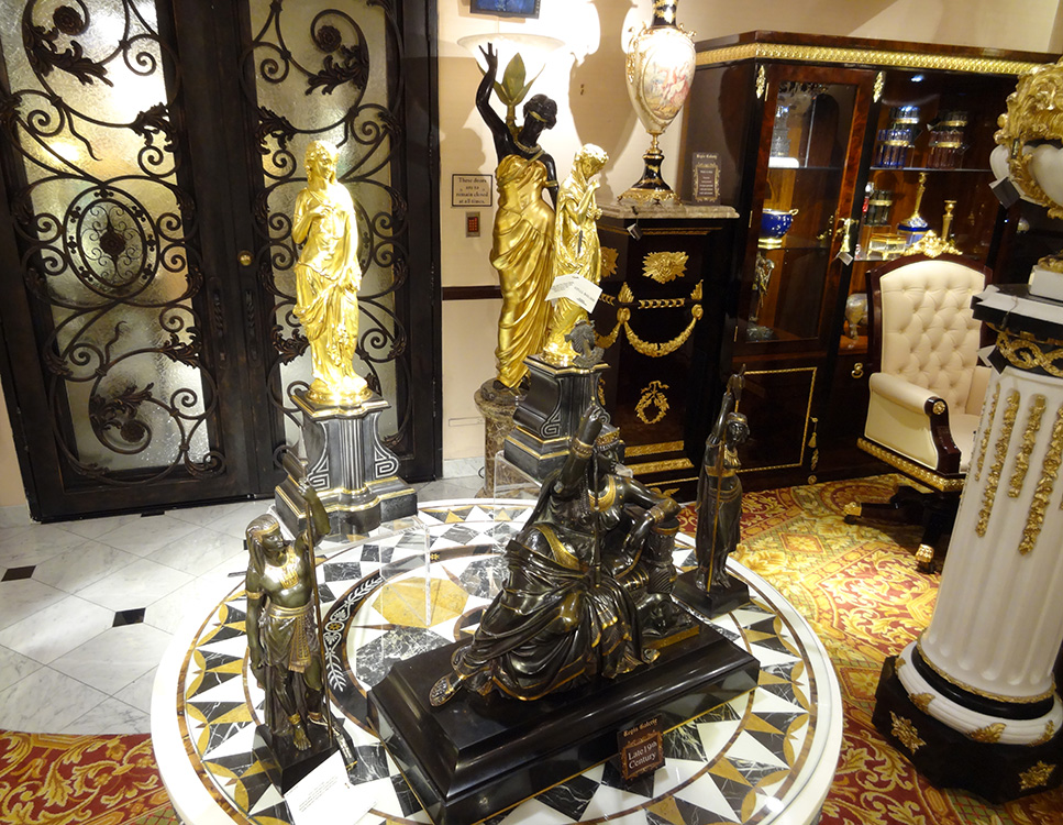 Regis Galerie, Late 19th Century Luxury Art, Venetian Las Vegas