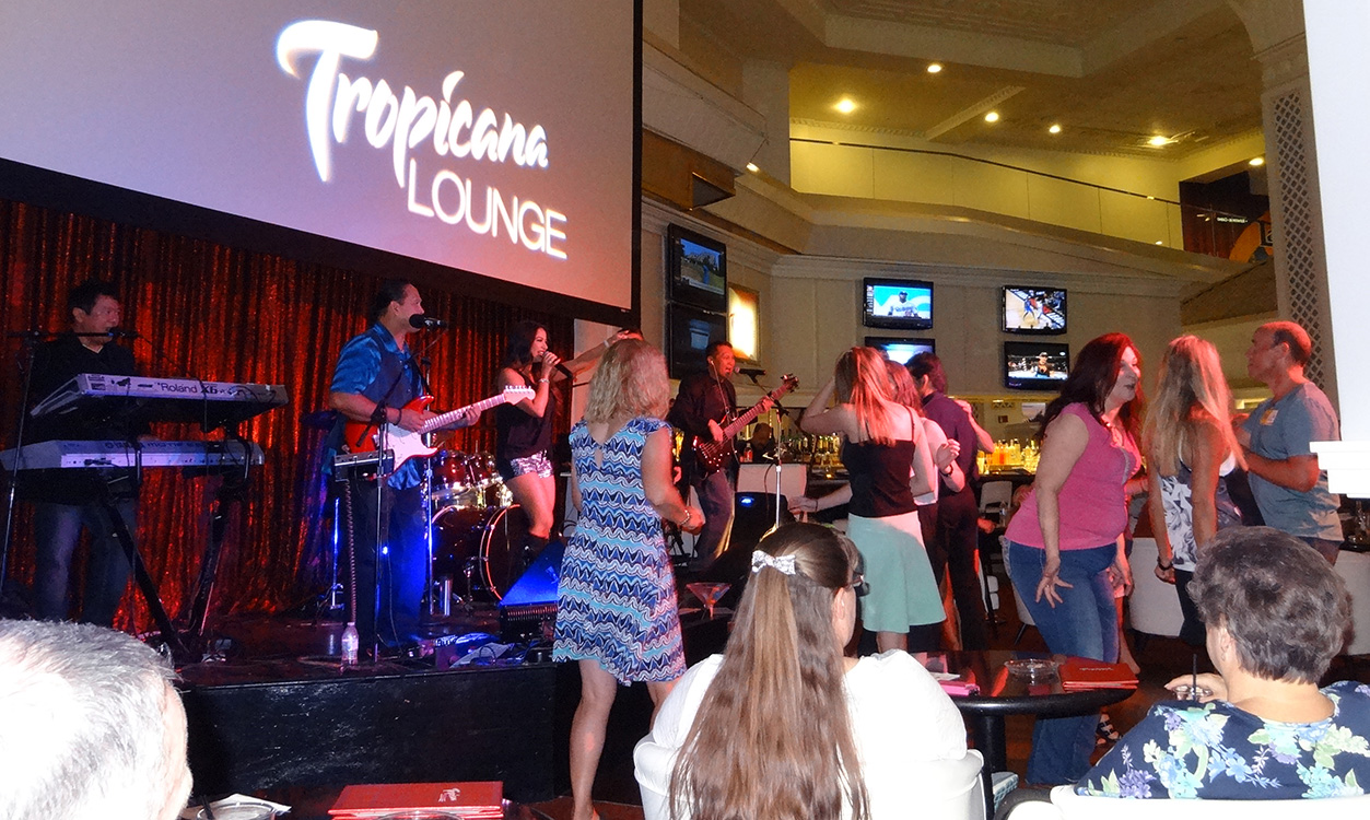 Tropicana Lounge, Next to Mamma Mia, Las Vegas