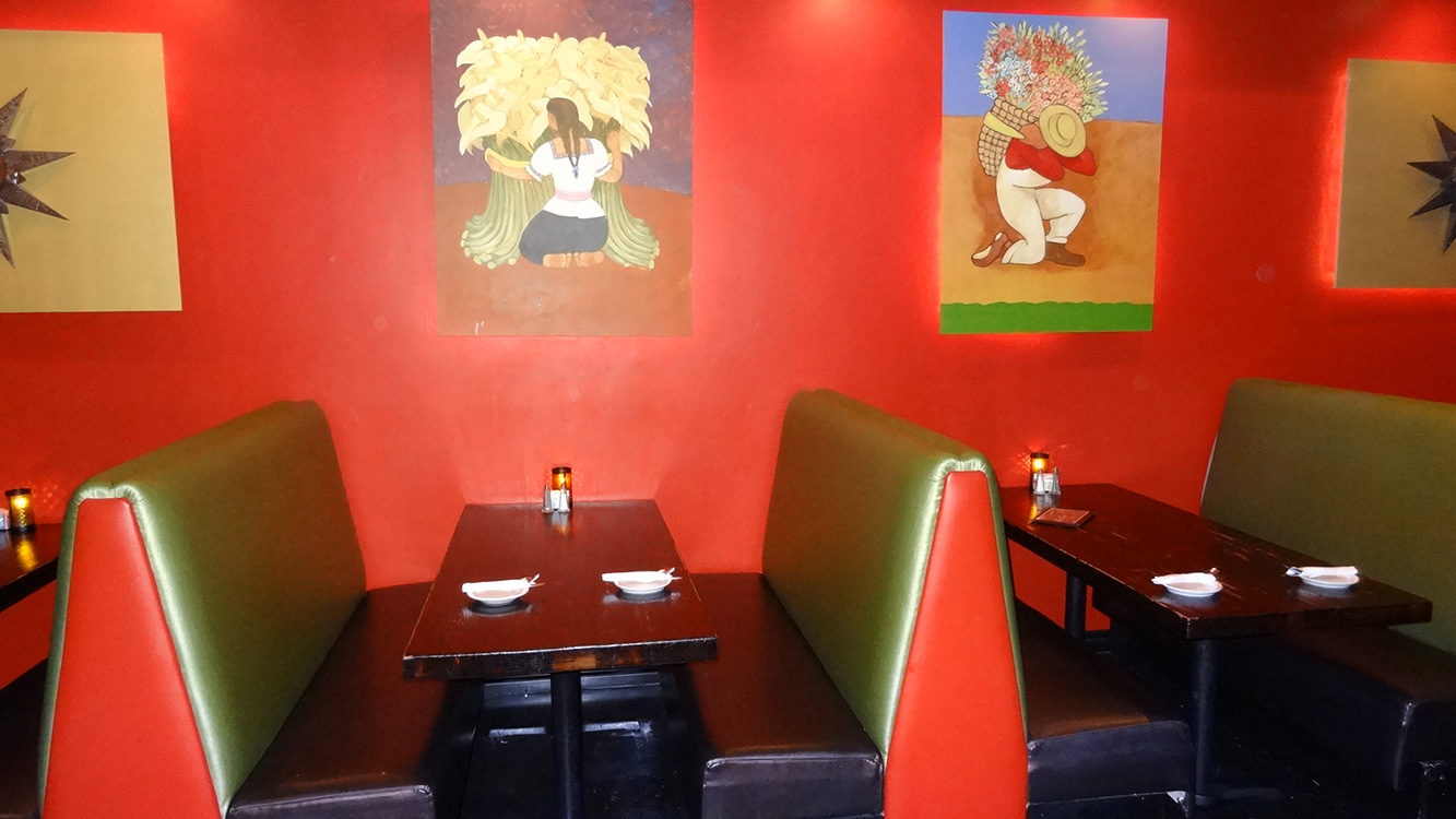 Booths Inside Viva Mercados, Mexican Bar & Grill, Summerlin Vegas