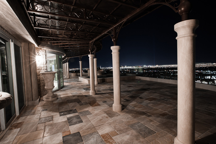 Crown Penthouse Deck Patio, Queensridge Towers, Las Vegas