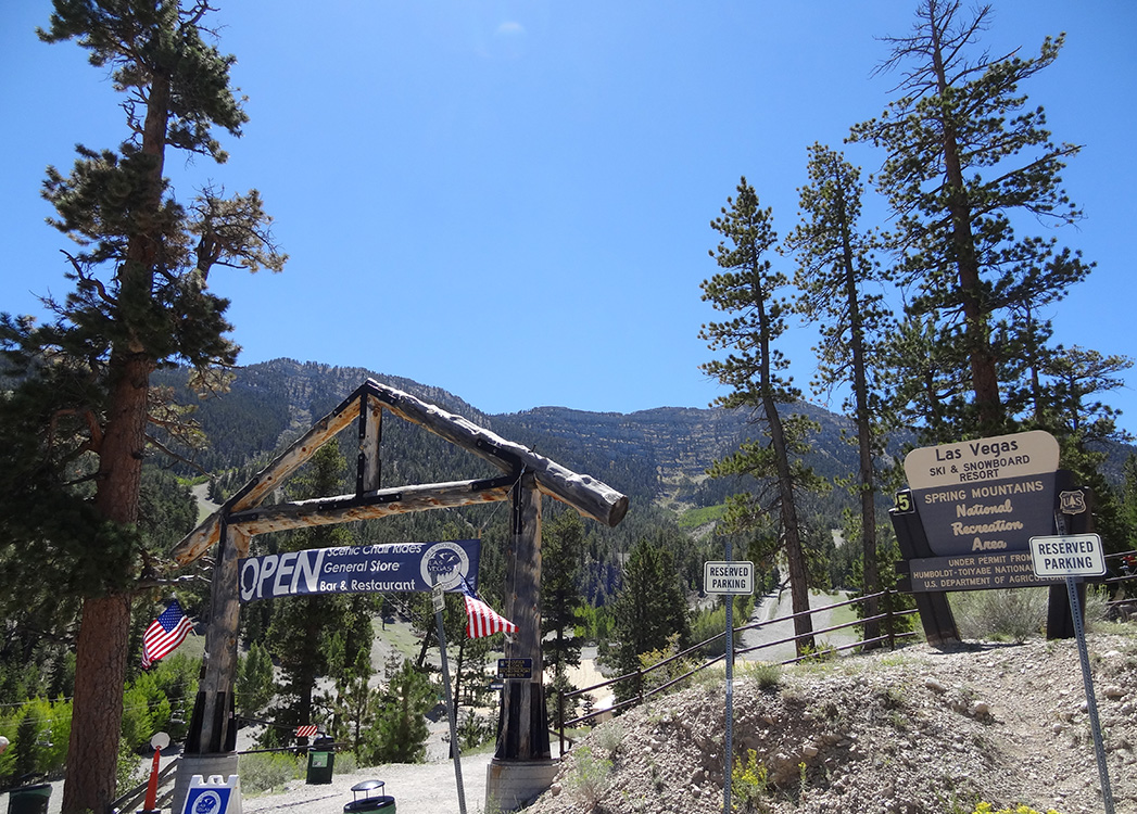 Las Vegas Ski & Snowboard Resort, Entrance, Mount Charleston