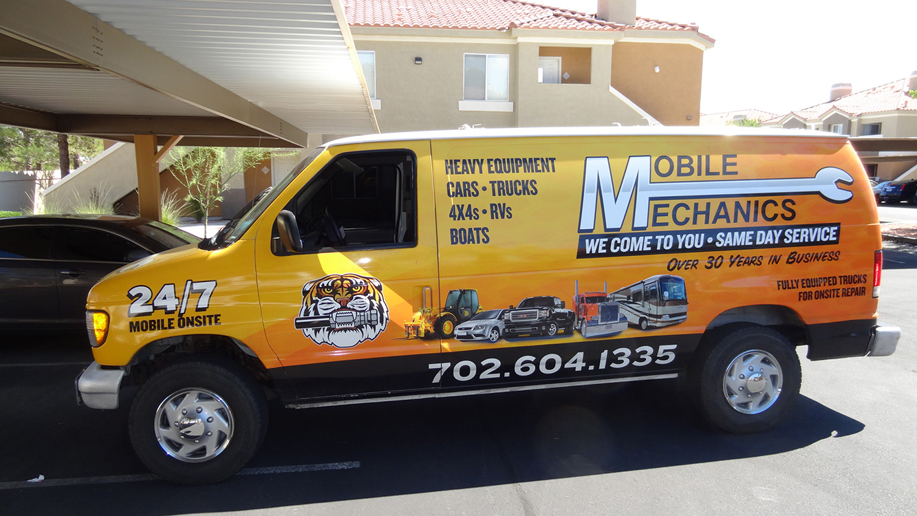 Mobile Mechanics Of Las Vegas, Repair Van 2