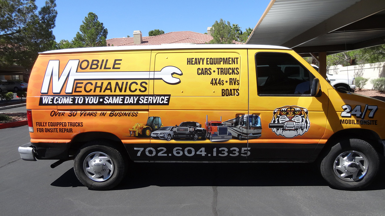 Mobile Mechanics of Las Vegas, Repair Van