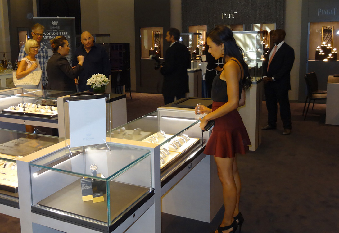 Piaget Wynn Boutique, Ashley Morgan, Las Vegas