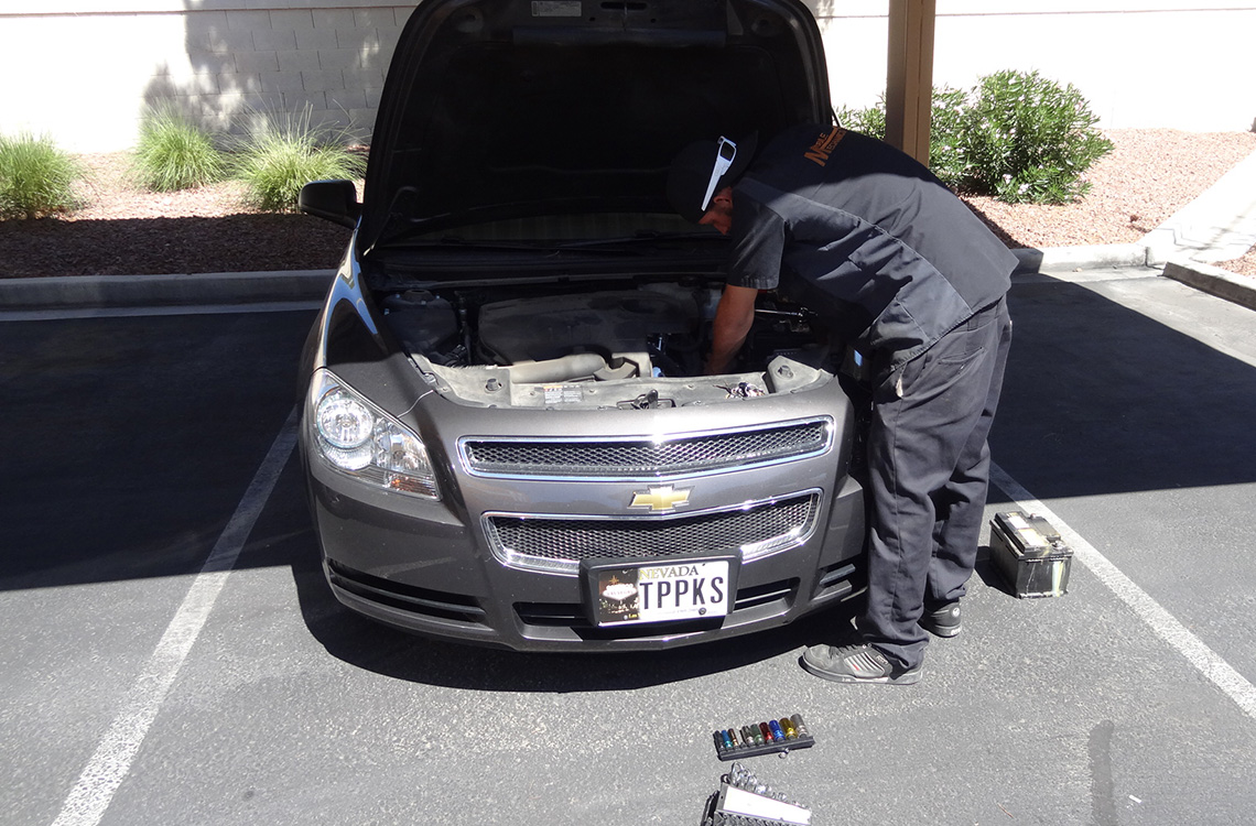 Repairing My Car, Mobile Mechanics of Las Vegas, Chevy Malibu