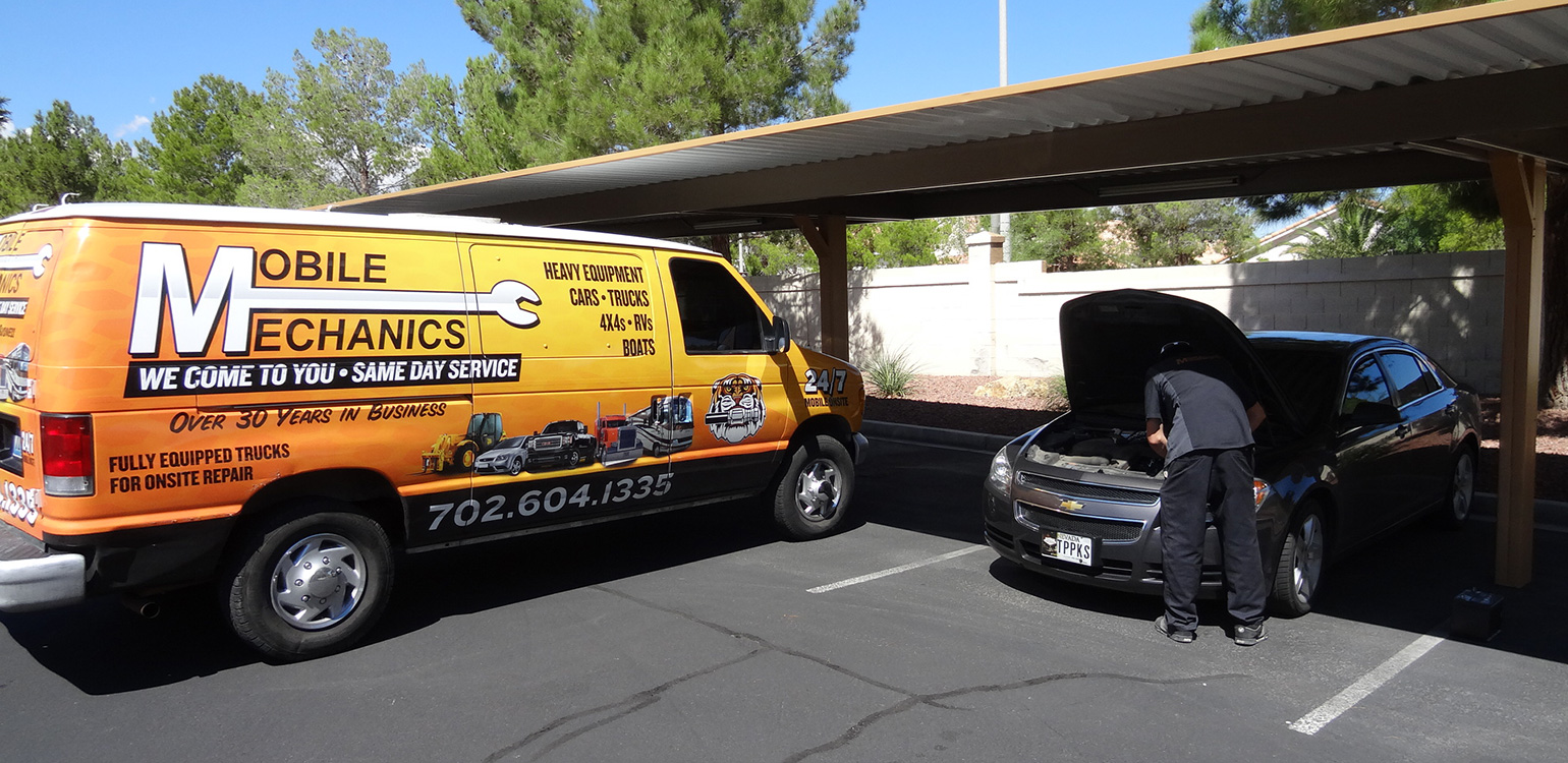 Mobile Mechanics Repairing My Car in Summerlin