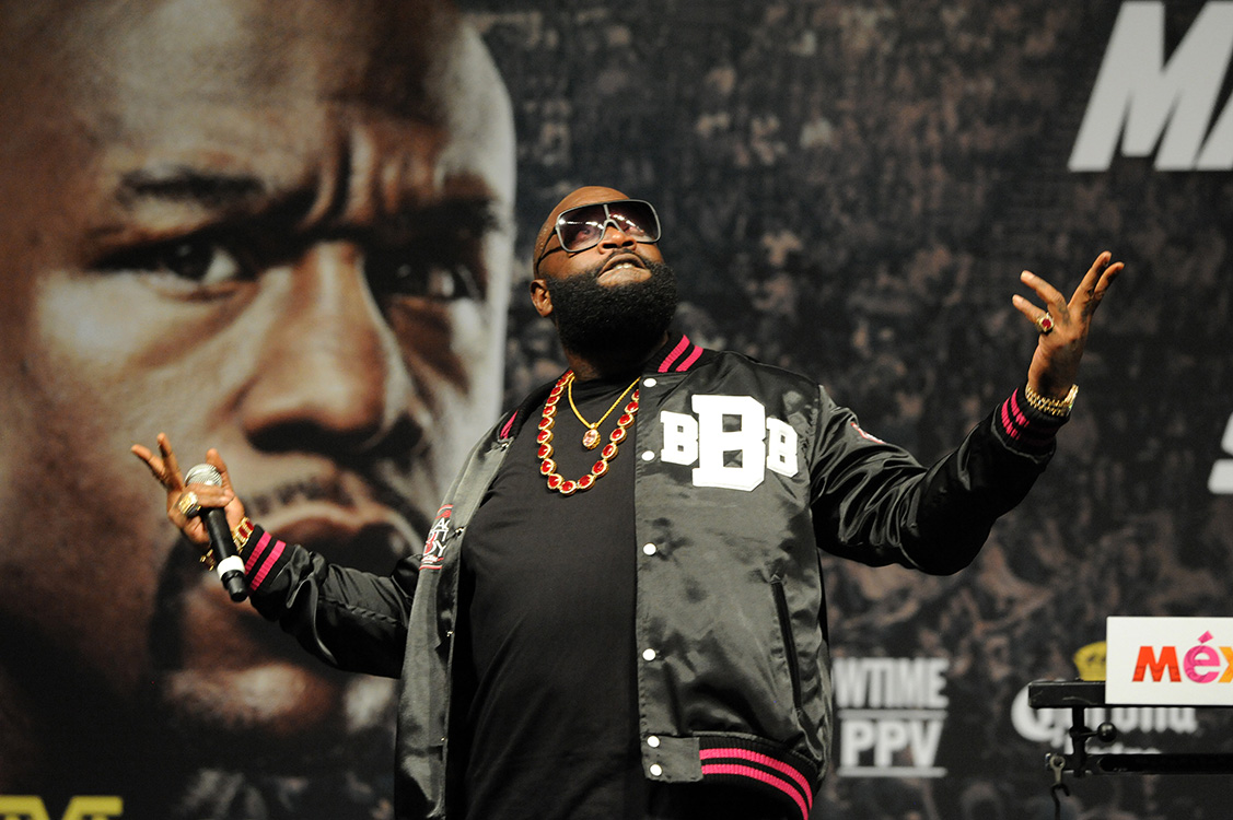 Rick Ross, Boxing MGM