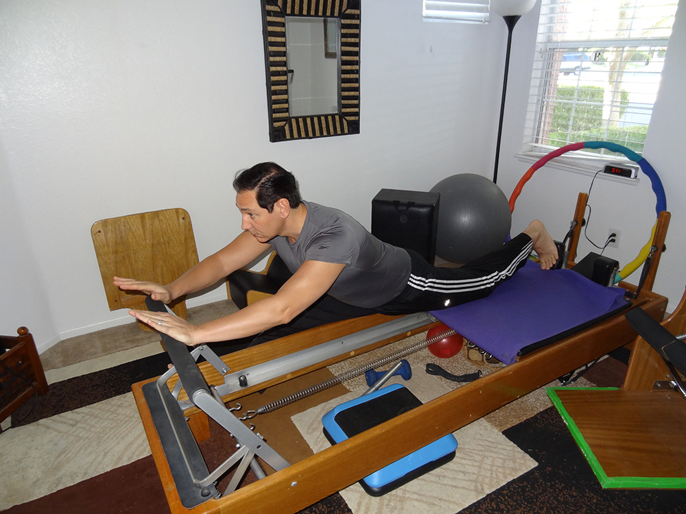 Stretching with Pilates, Rolando Agnolin, Private Instructor, Summerlin Las Vegas