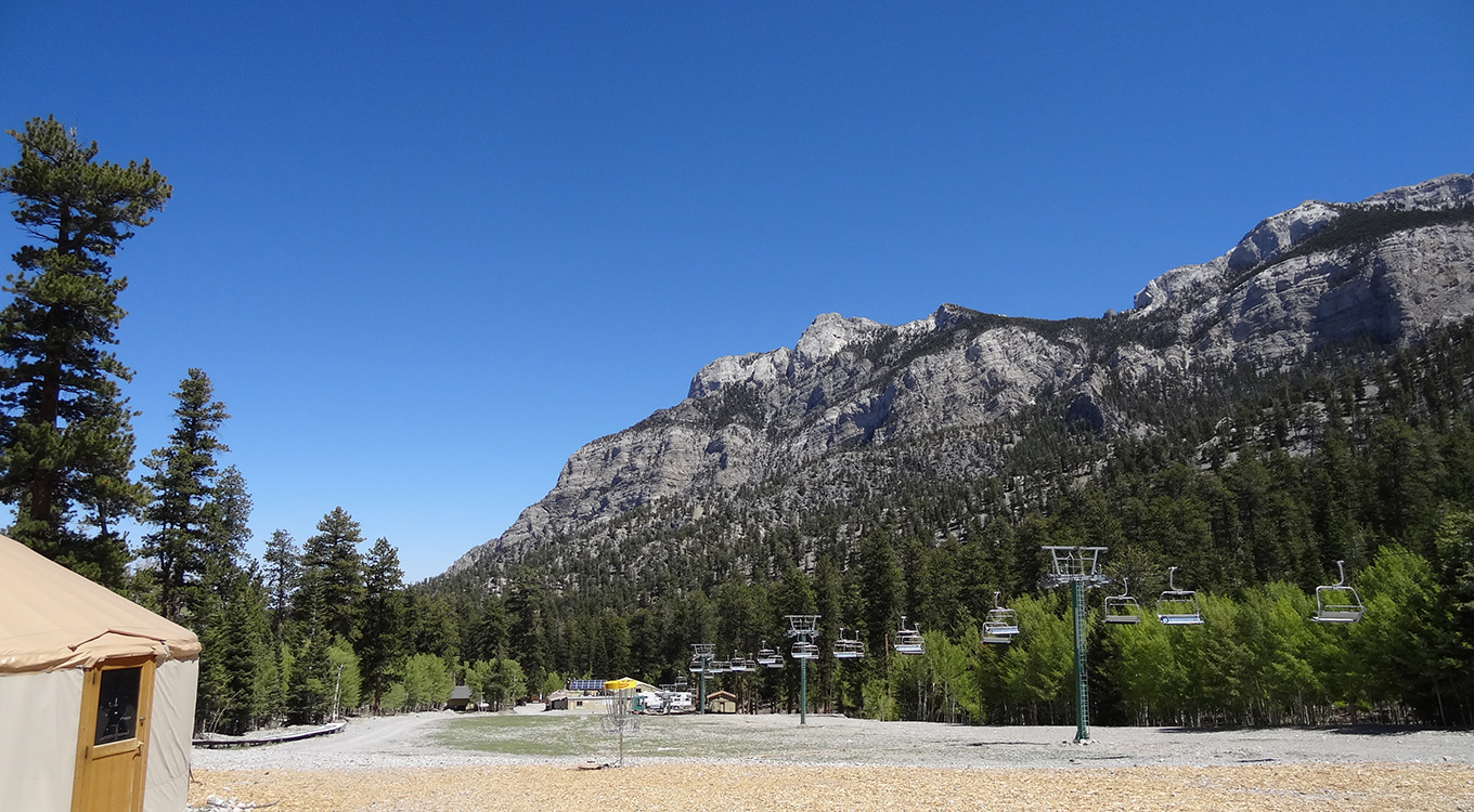 Summer Hiking, Las Vegas Ski & Snowboard Resort, Mount Charleston