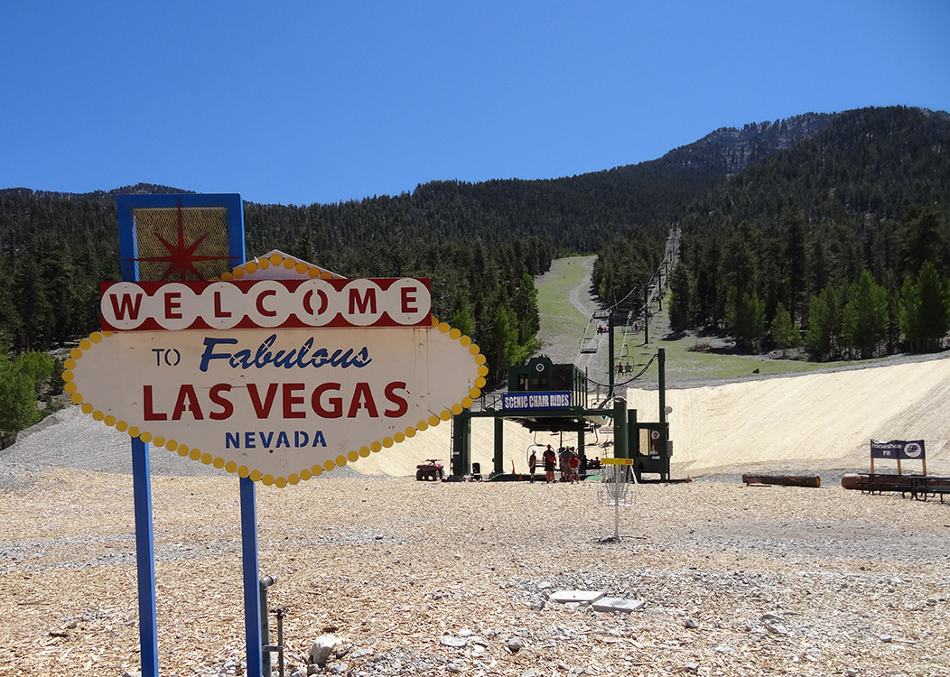 Welcome to Las Vegas Sign, Las Vegas Ski & Snowboard Resort