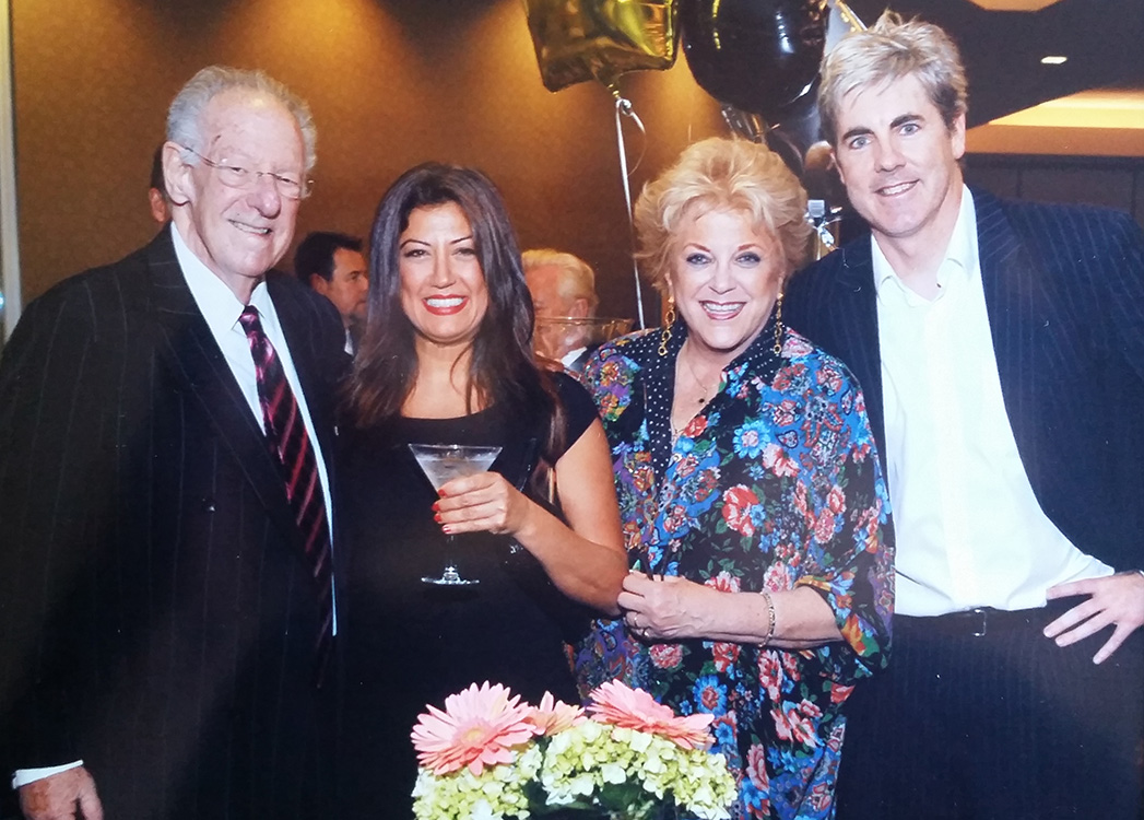 Brendan Magone with Two Mayors, Oscar Goodman & Carolyn Goodman, Blind Center Annual Gala, Las Vegas