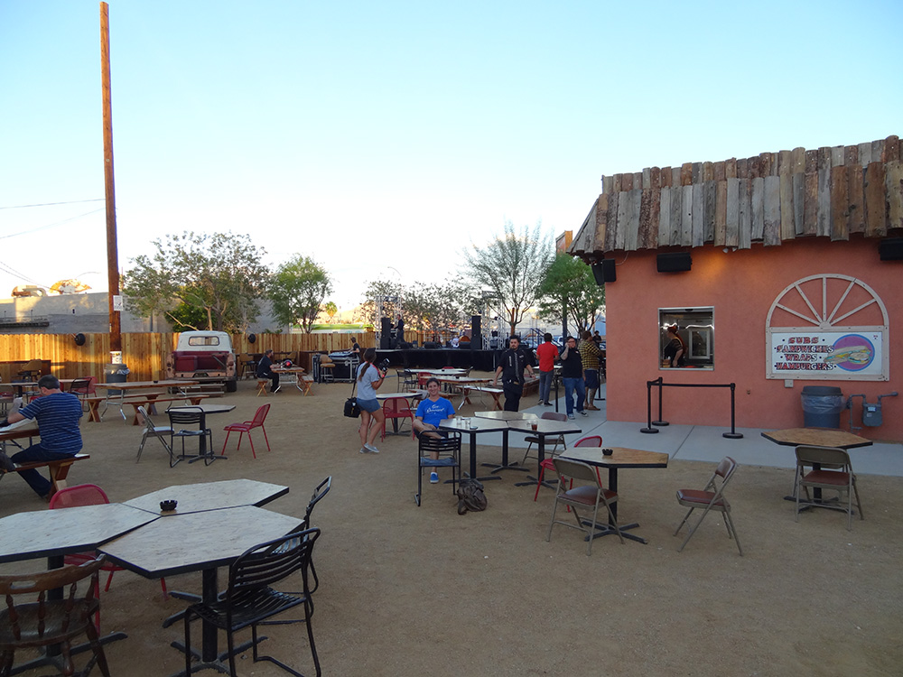 Bunkhouse Saloon, Setting Up, Downtown Las Vegas