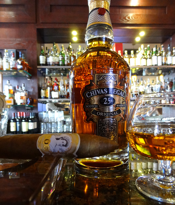 Cigar Pairing, Chivas Regal 25