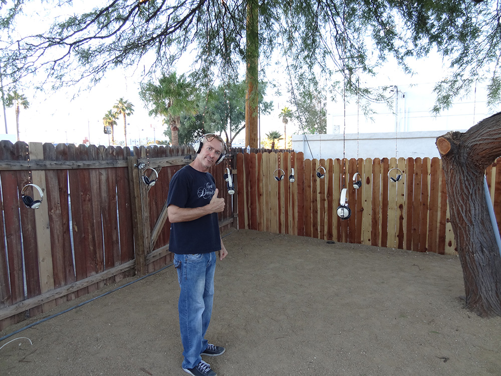 Don Crancer of Bev X, Listening to the Listening Tree, Bunkhouse Saloon