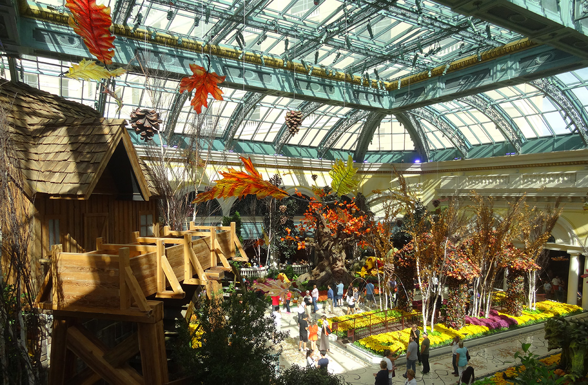 Harvest Celebration, Bellagio Conservatory & Botanical Gardens, Las ...