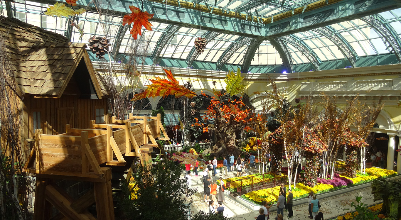 Bellagio Conservatory, Autumn Harvest 2014 - Las Vegas Top Picks
