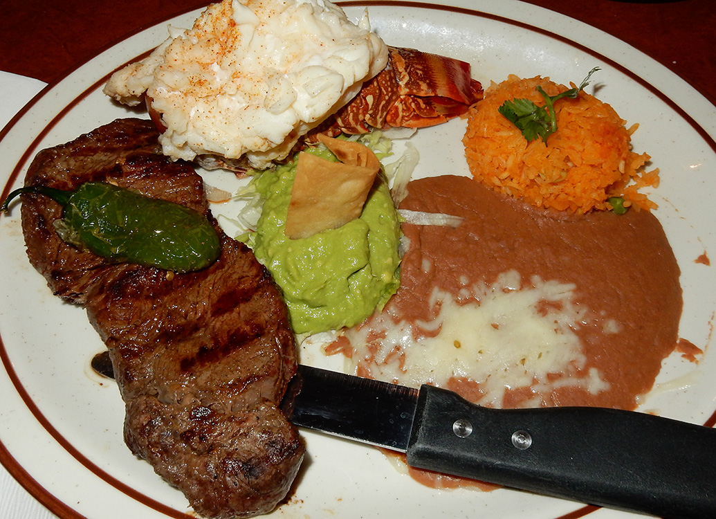 New York Steak and Shrimp, Lindo Michoacan, West Flamingo Las Vegas