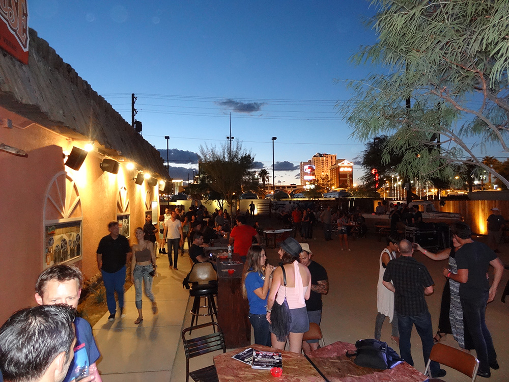 Outdoor Festivities, Bunkhouse Saloon, Downtown Las Vegas