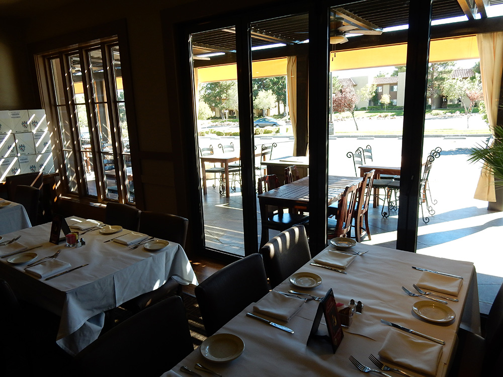 Siena italian authentic trattoria las vegas top picks for Restaurants with private rooms near me