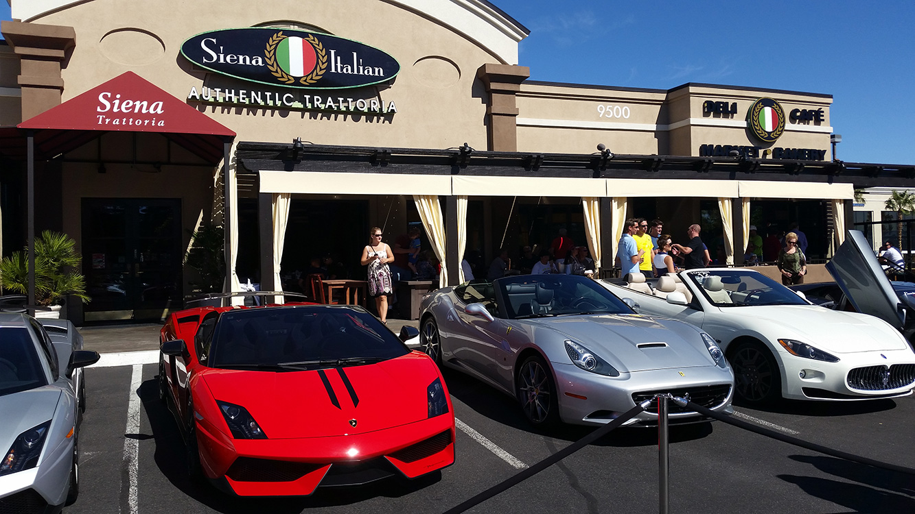 Siena Italian Sports Car Day, West Las Vegas