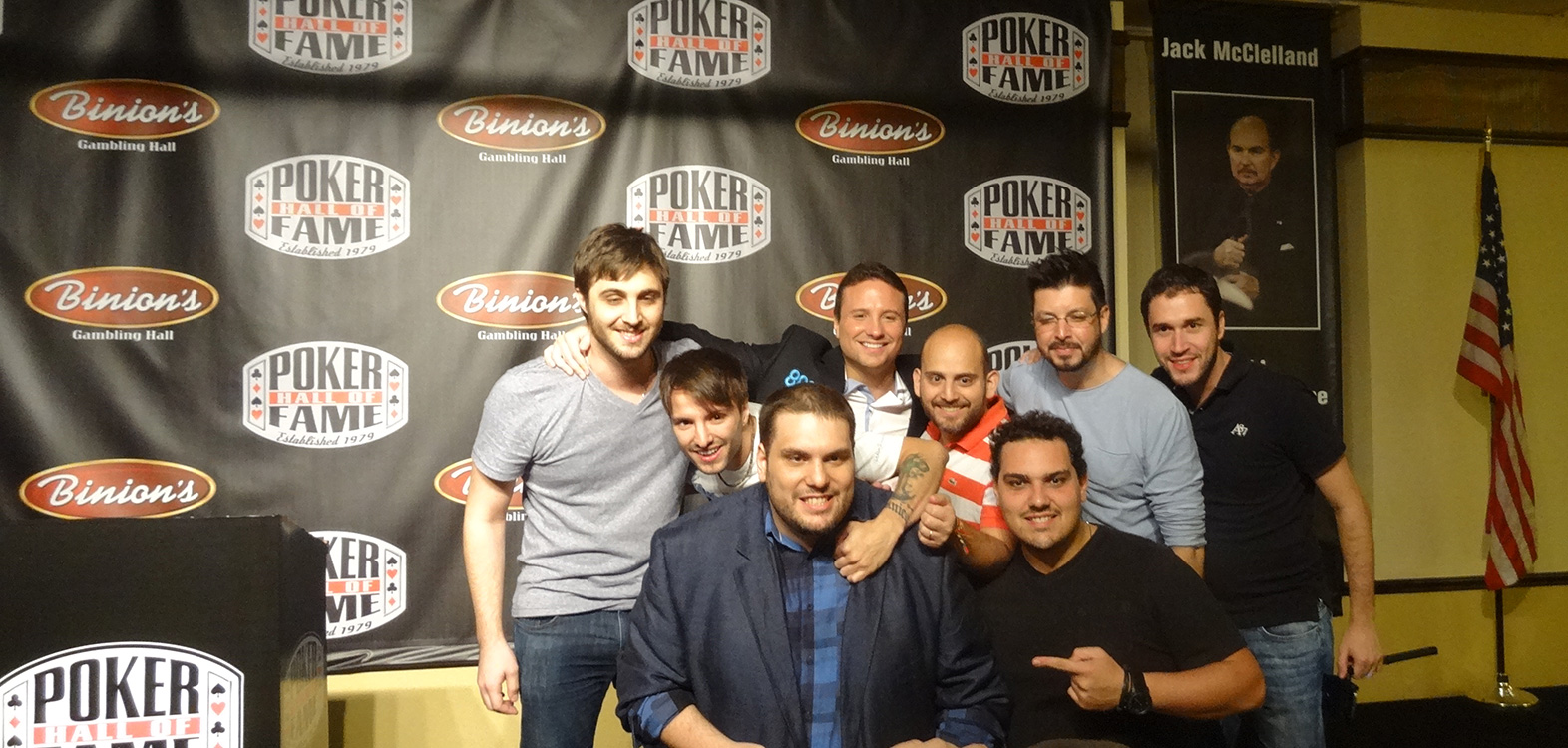 Bruno-Politano-November-Niner-and-friends,-2014-Poker-Hall-of-Fame,-Las-Vegas