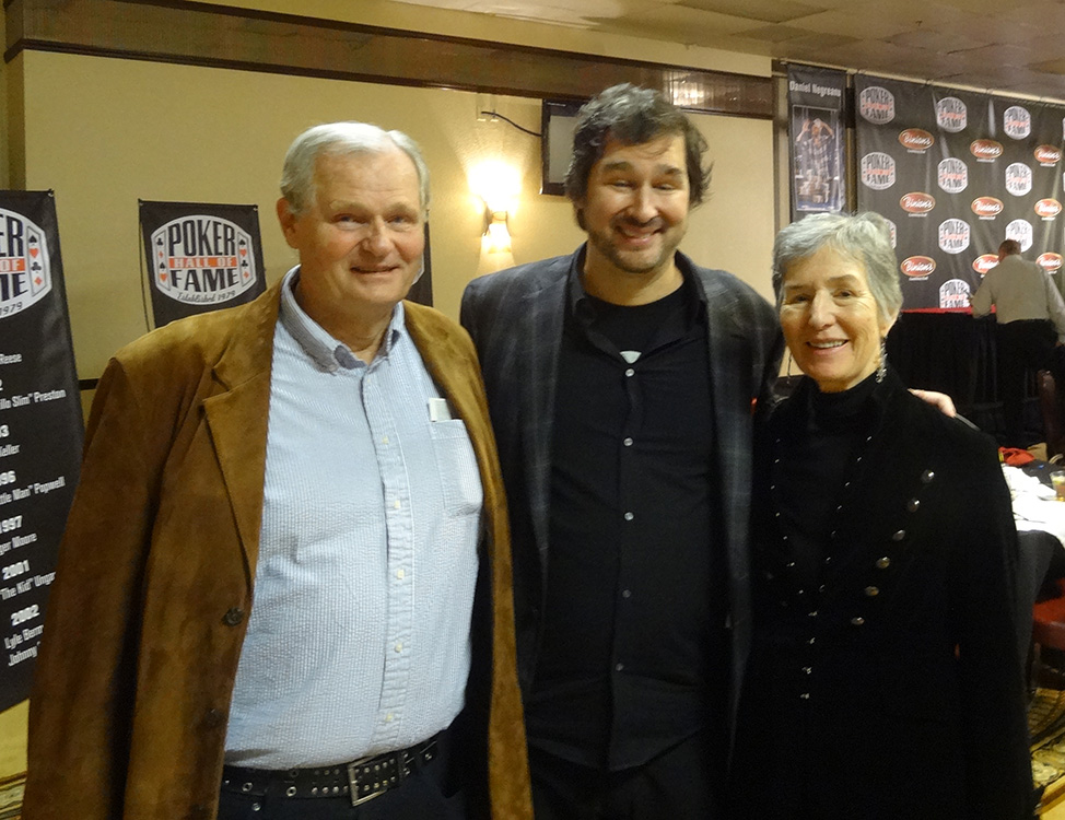 Phil-Hellmuth-with-Mother-&-Father,-2014-Poker-Hall-of-Fame-Ceremony,-Binions-Las-Vegas