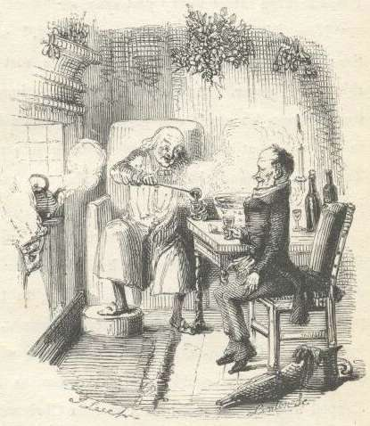 A Christmas Carol by Charles Dickens, Scrooge and Bob Cratchit