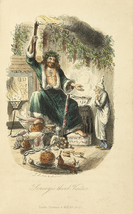 A-Christmas-Carol-by-Charles-Dickens,-The-Ghost-of-Christmas-Present