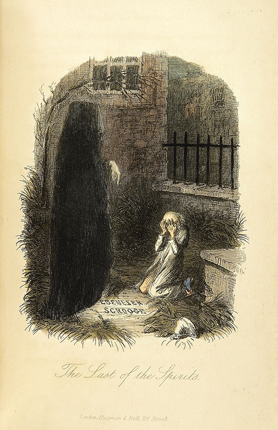 Ghost-of-Christmas-Yet-to-Come,-A-Christmas-Carol,-Charles-Dickens