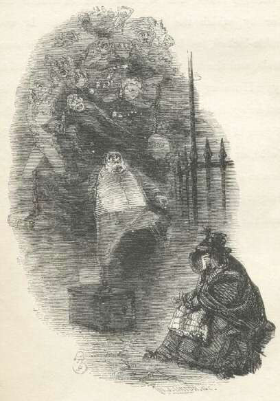 The-Ghost-of-Christmas-Past,-A-Christmas-Carol,-Charles-Dickens