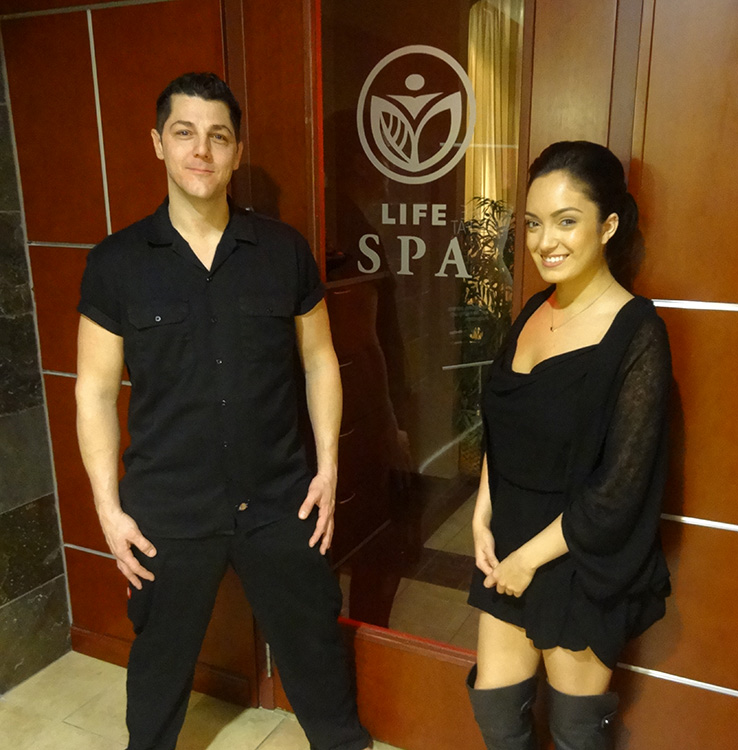 Gregory-Williams-Massage-Therapist,-With-Client-&-Fellow-Staff-Member,-LifeSpa-in-Summerlin