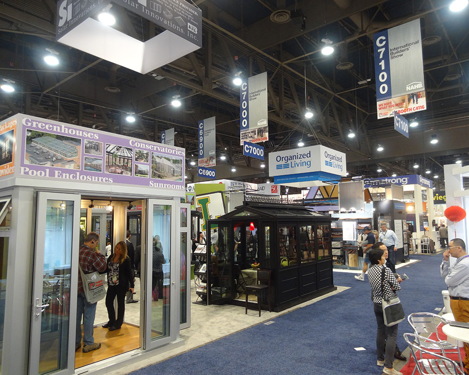 Various Booths at IBS 2015 NAHB International, Las Vegas