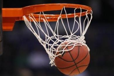 College Basketball Hoop Image