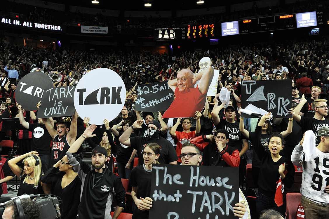 Honoring-Jerry-Tarkanian,-UNLV-coach-and-legend,-Las-Vegas