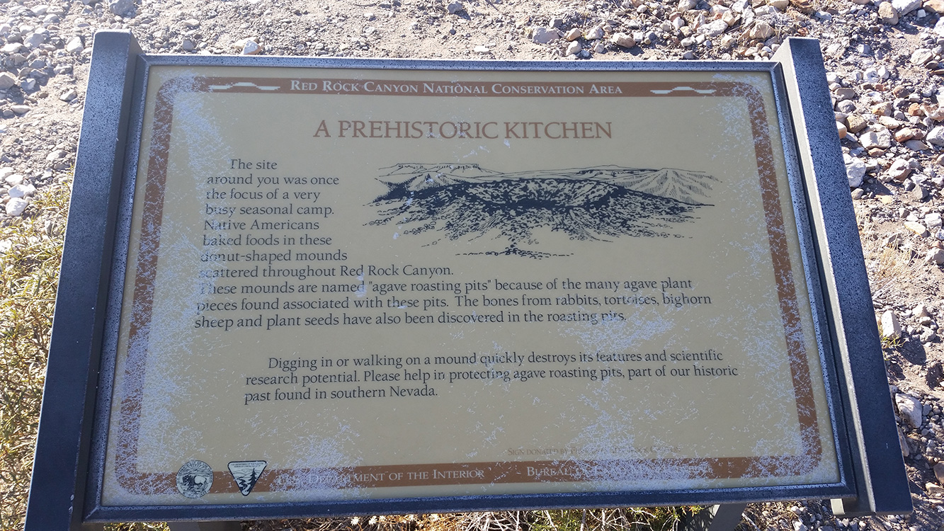 A-Prehistoric-Kitchen-Sign,-White-Rock-Area-in-Red-Rock-Canyon,-Las-Vegas