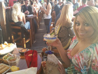 Richelle Richie, Cabo Wabo Cantina & Miracle Mile Shops
