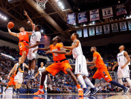 College Basketball Action Image