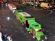 Hauler Parade on Las Vegas Strip Kickstarts NASCAR Weekend