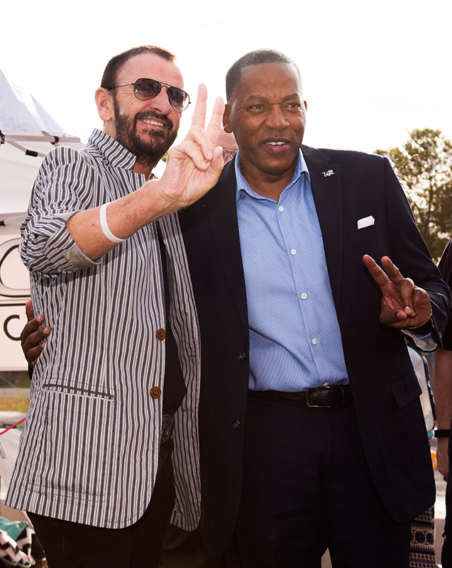 Ringo-Starr-and-Lawrence-Weekly,-Las-Vegas