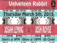 Velveteen Rabbit March 5 Show