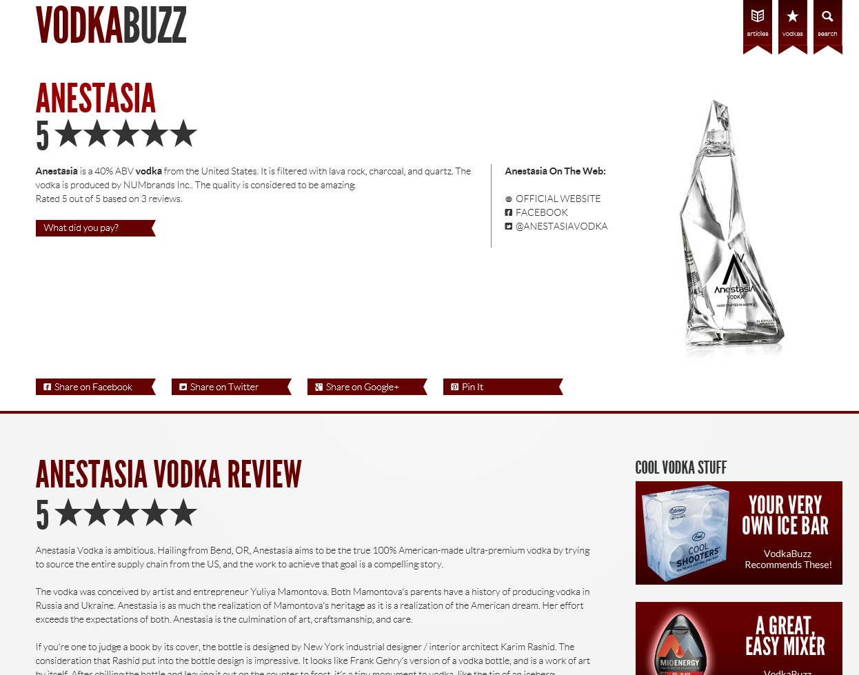 AnestasiA_Vodka_5_Star_Review_from_VodkaBuzz_2015