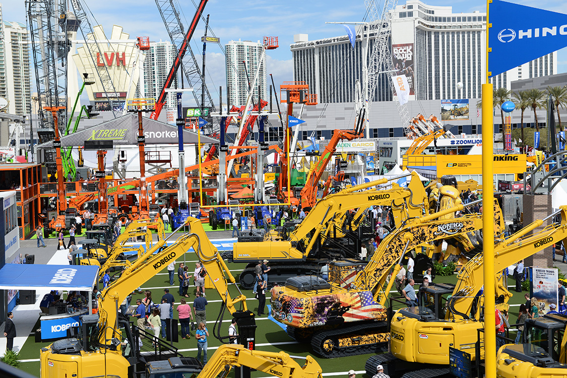 Conexpo-CON-AGG-exterior,-Las-Vegas-Convention-Center
