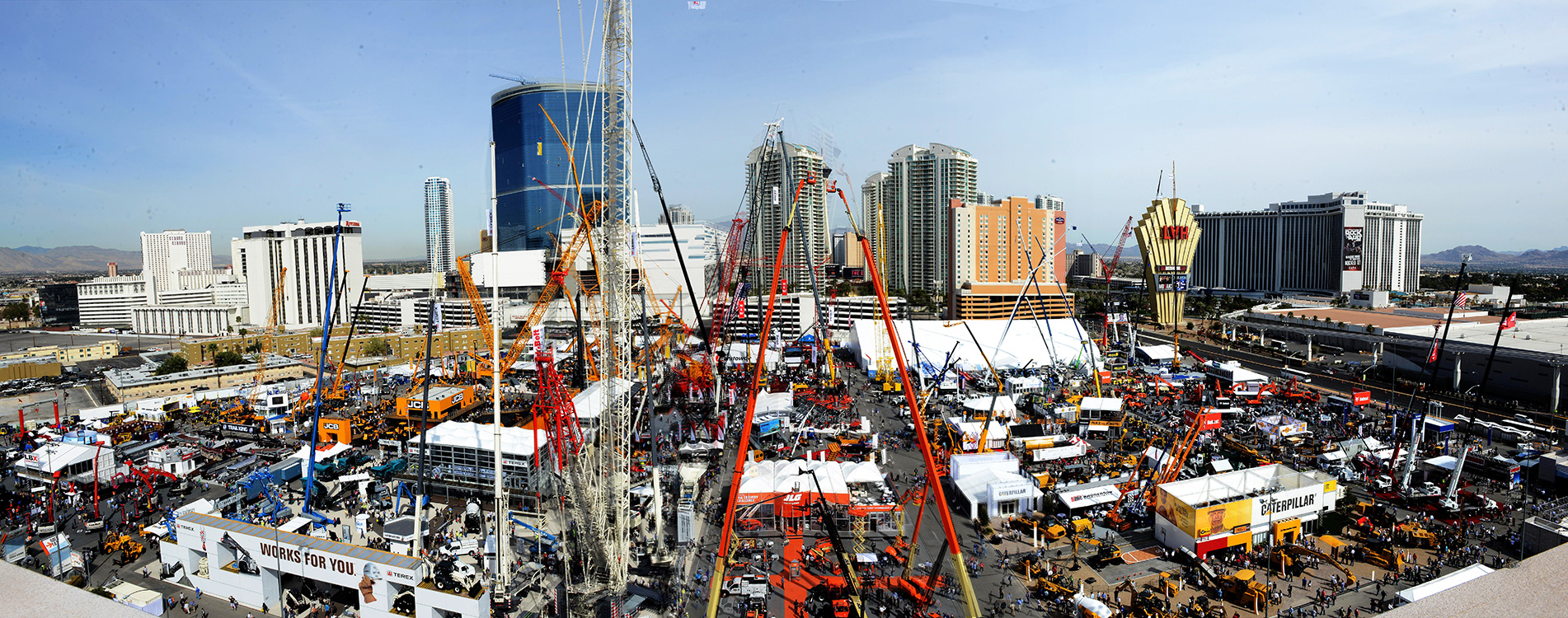Conexpo---CON-AGG-panoramic,-Las-Vegas-Convention-Center
