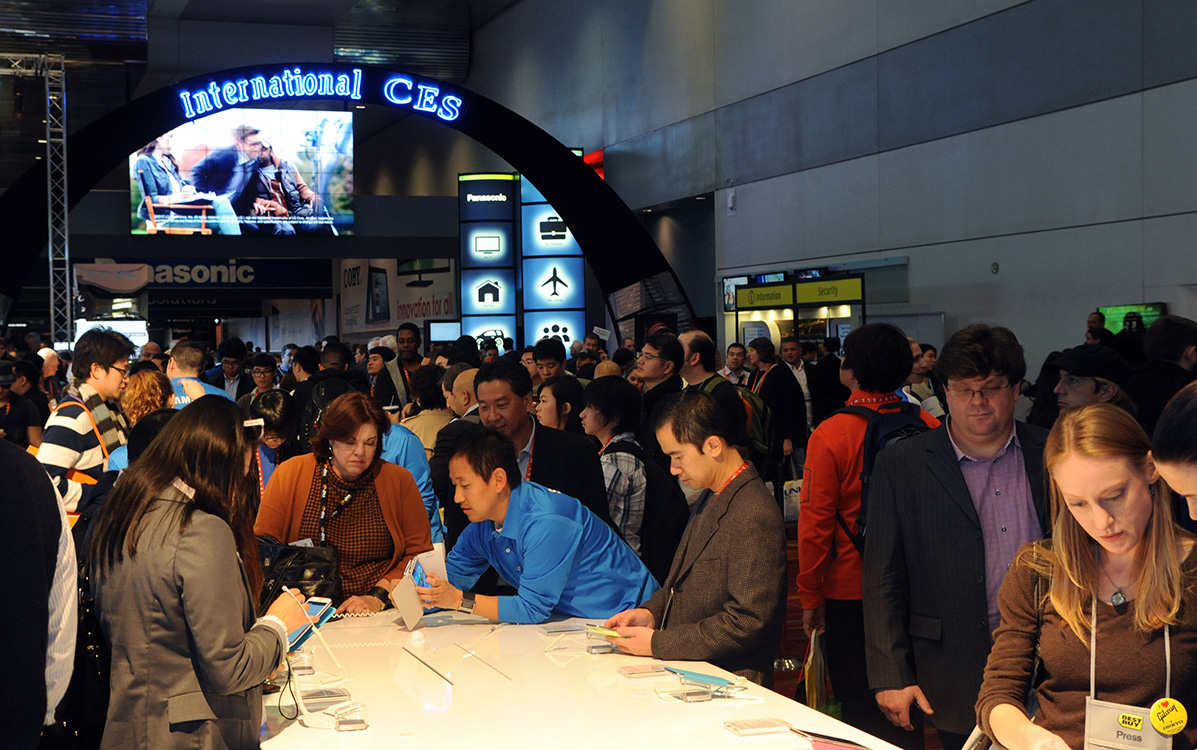 International-CES-trade-show-floor,-Las-Vegas-Convention-Center