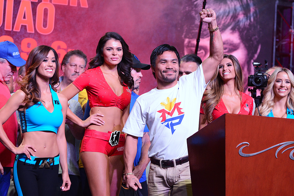 Pacquiao-Arrives-in-Las-Vegas